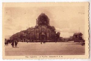 Rep. Argentina - La Plata - Estacion F.C.S.