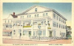 Ye Colonial Inn Hampton Beach NH Unused
