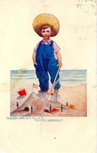 Young America - Artist: Bernhardt Wall