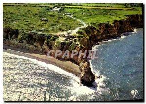 Modern Postcard Omaha Beach Calvados Criqueville en Bessin