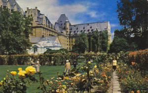 Empress Hotel and Rose Gardens Victoria Canada