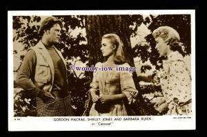 b6326 - Film Actress - Shirley Jones and Others - postcard Picturegoer No.D.820