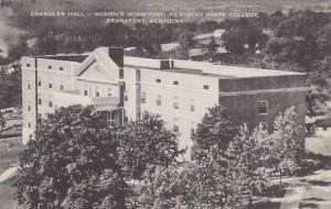 Kentucky Frankfort Chandler Hall Womens Dormatory Kentucky State College Artvue