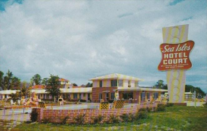 Mississippi Gulfport East Beach Sea Isles Hotel Hotel Court