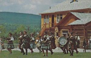 St Ann Gaelic College Girl's Pipe Band , St Ann's , C.B. , Nova Scotia , Cana...