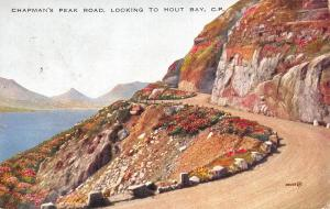 South Africa Cape Town Chapman's Peak Road, Looking to Hout Bay 1932