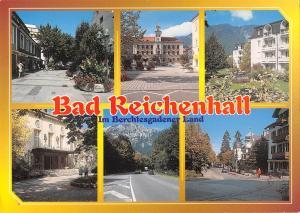 GG13024 Bad Reichenhall Bekannter Kurort Rathaus Schloss, Town hall Street