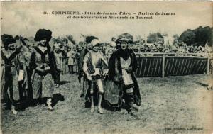 CPA COMPIEGNE Fetes de Jeanne d'Arc Arrivée de Jeanne de Gouverneurs (377022)
