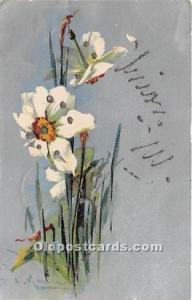 Artist Catherine Klein W. G Mac Farlane Publishing Writing on back light corn...