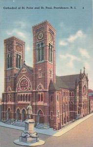 Rhode Island Providence Cathedral Saint Peter And Saint Paul