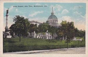 State Capitol, Side View, Montgomery, Alabama, 10-20s