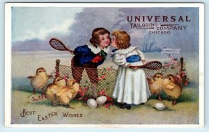 CHICAGO, IL Illinois  EASTER Advertising  c1910s UNIVERSAL TAILORING COMPANY