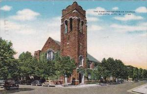 New Jersey Atlantic City The First Presbyterian Church 1951