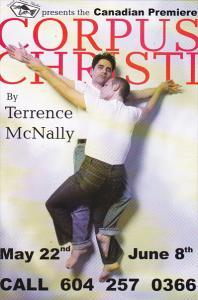 Corpus Christi by Terrence McNally Festival House Theatre Granville Island Ca...
