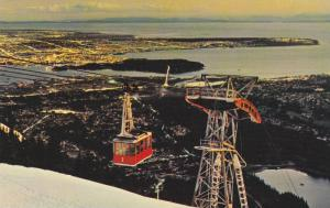 Grouse Mountain Skyride , NORTH VANCOUVER , B.C., Canada , 50-60s