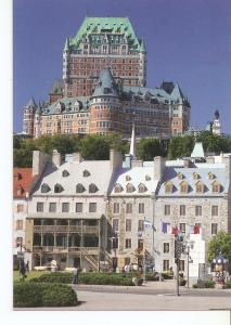 Postal 042459 : Quebec. Ch?eau Frontanac seen from Downtown