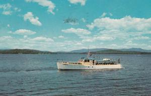 Lake Winnipesaukee , New Hampshire , 1967 ; M.V. SOPHIE C