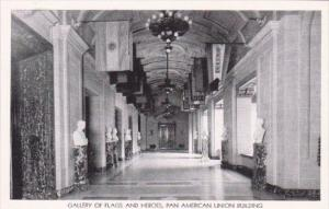 Washington DC Pan American Union Building Interior Gallery Of Flags and Heroes