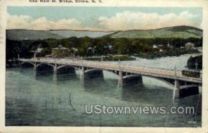New Main Street Bridge in Elmira, New York