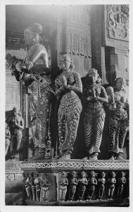 India Goddess Carved Statuettes