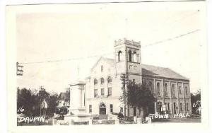 RP; Daupin , Manitoba , Canada , 1930s ; Town Hall