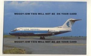 ac338 - Aeroquetzal Convair 580 , TG-MYM - postcard