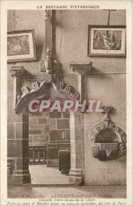 Postcard Old La Clarte in Perros Guirec Brittany Picturesque Chapel of Our La...