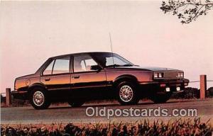 Postcard Post Card Cadillac for 1984