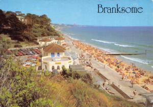 Postcard BRANKSOME Chine, Poole, Dorset by J. Salmon Ltd #B