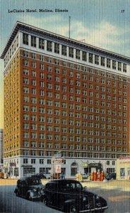 Illinois Moline LeClaire Hotel