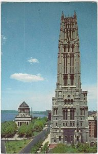 1956 The Riverside Church and Grant's Tomb, New York City, New York
