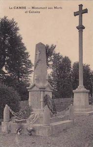 La Cambe , Calvados department, France , 00-10s ; Monument aux Morts et Calvaire