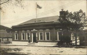 Camden ME Post Office c1910 Real Photo Postcard