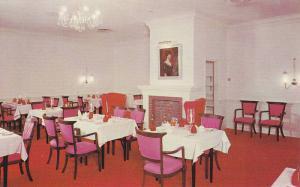 Interior View of Restaurant, Fine Dining, Vancouver,, British Columbia, Canad...