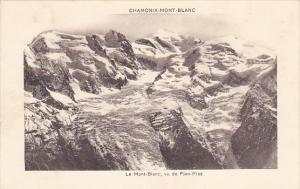 France Chamonix Le Mont Blanc vu de Plan-Praz