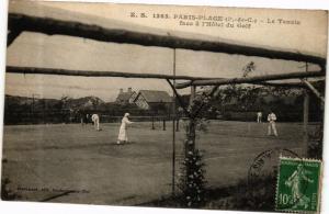 CPA PARIS-PLAGE - Le Tennis face a l'Hotel du Golf (267958)