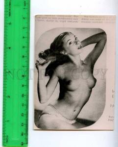 213219 semi-nude girl russian photo miniature card