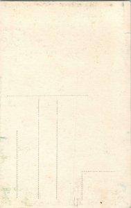 Vtg Postal 1930s RPPC Montecatini Terme Toscana, Italia Calle Coche sin Usar