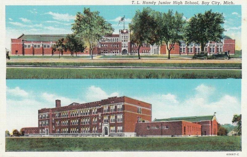 BAY CITY , Michigan , 1910-30s ; T.L. Handy Junior High School