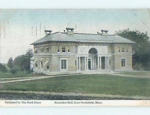 Divided-Back KENARDEN HALL East Northfield Massachusetts MA p1608