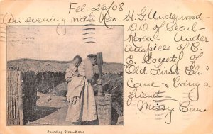 Pounding Rice 1908
