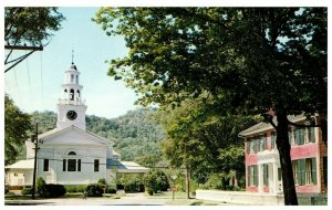 First Congregational Church Woodstock Vermont PC931