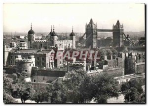 Postcard Modern Tower of London General View from the North West
