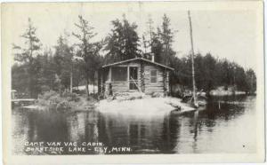 RP Camp Van Vac Cabin Burntside Lake Ely Minnesota MN
