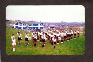 PQ QC Les Cadets Corps Band Saint Paul des Trois Rivieres  Quebec Carte Postale