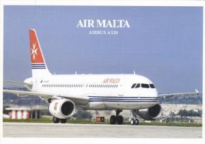 AIR MALTA Airbus A320 Jet Airplane , 80-90s