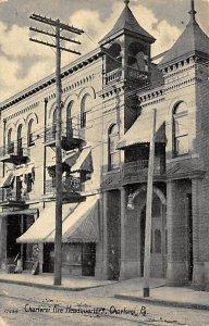 Charleroi Fire Headquarters Charleoi, PA., USA Fire Department 1910