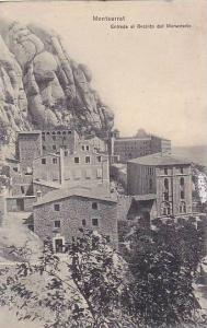 Entrada Al Recinto Del Monasterio, Montserrat (Catalonia), Spain, 1900-1910s