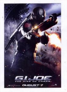 Movie Advertising postcard G.I. JOE #2