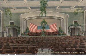 LA CROSS , Wisconsin, 1917 ; Normal School Auditorium